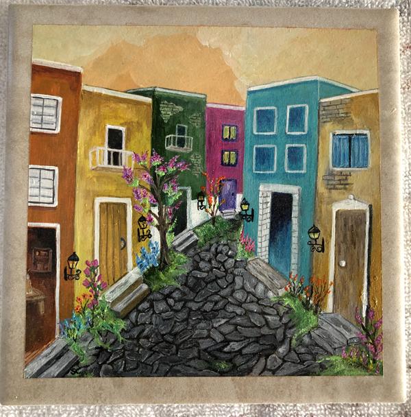 Painting Old San Juan